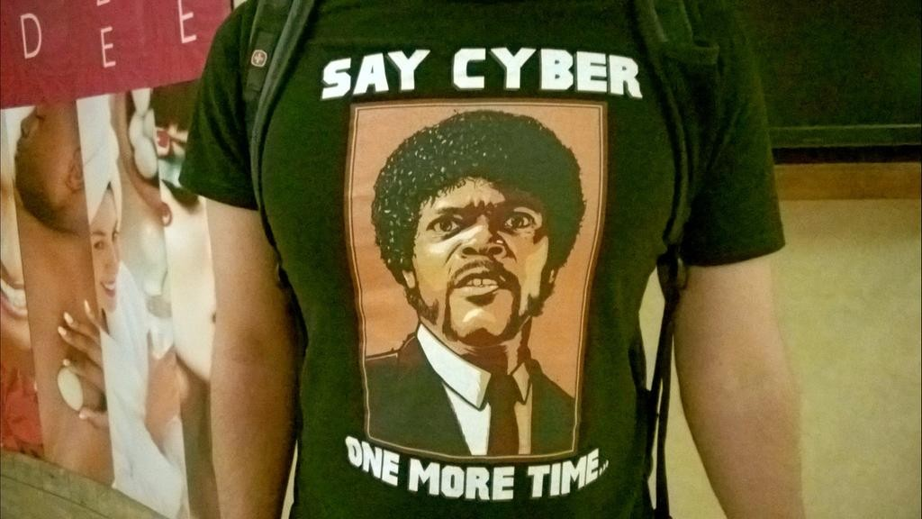 Say Cyber one more time!
